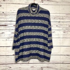 Anthropologie Postmark Striped Sweater